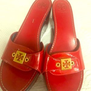 Tory Burch Clogs size 11